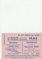 -  BUVARD Traitement Capillaire MAS - 043 - Parfums & Beauté