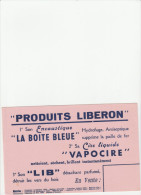 - BUVARD - Produits LIBERON - 052 - Pulizia