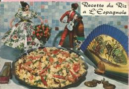 PP13 - RECETTE DU RIZ A L´ESPAGNOLE - RECETA DE ARROZ A LA ESPAÑOLA - PAELLA - Recetas De Cocina