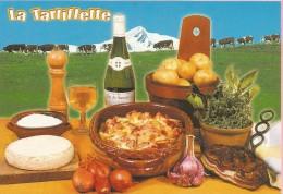 PP16 - POSTAL - LA TARTIFLETTE - Recetas De Cocina