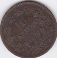 Luxembourg - 10 Centimes ,1870 - Luxembourg