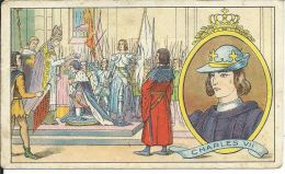 CHROMO , SIROP JACQUET , Charles VII - Chromos