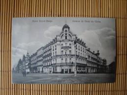 """Hotel Royal Belge, Stempel""""Kaiserliche Marine Kommando II. Marine Division"""" - De Panne"""