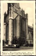 Cp Stralsund Mecklenburg Vorpommern, Turmseite Der Marienkirche - Other