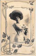 [DC4501] CARTOLINA - DONNA - SIMON GIRARD - REUTLINGER PARIS - Non Viaggiata - Old Postcard - Femmes