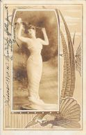 [DC4504] CARTOLINA - DONNA - Viaggiata - Old Postcard - Femmes