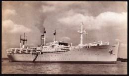 """S.S. """"ZUIDERKRUIS"""" (NL) - Circulé - Circulated - Gelaufen - 1951. - Dampfer"""