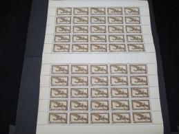 INDOCHINE - N° PA1 En Feuille De 50 Exemplaires - Luxe - Lot N° 5781 - Unused Stamps