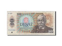 [#257021] Tchécoslovaquie, 10 Korun, Type Pavol Orszag Hviezdoslav - Tchécoslovaquie