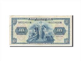 [#110216] Allemagne, 10 Deutsche Mark Type 1949 - [ 7] 1949-… : RFD - Rep. Fed. Duitsland