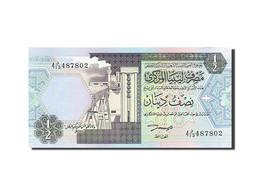Libye, 1/2 Dinar, Type 2002 - Libye