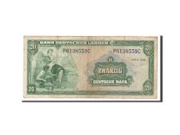 [#156678] Allemagne, 20 Deutsche Mark Type 1949 - [ 7] 1949-… : RFA - Rép. Féd. D'Allemagne