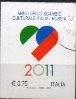 PIA - ITA - 2011 : Anno Dello Scambio Culturale Italia-Russia - (SAS 3291) - 2011-...: Usati