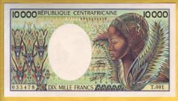 République Centrafricaine - Billet De 10000 Francs. ND 1983.  Pick: 13. SUP+ - República Centroafricana