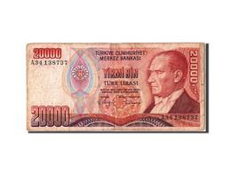 Turquie, 20 000 Lira Type Atatürk, - Turquie