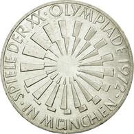 Monnaie, République Fédérale Allemande, 10 Mark, 1972, Karlsruhe, SUP - Other Coins