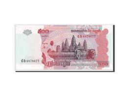 Cambodge, 500 Riels Type 2001-02, Pick 54b - Cambodia