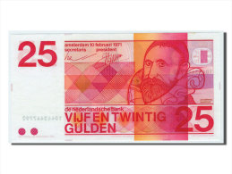 [#83244] Pays-Bas, 25 Gulden Type 1966-72, Pick 92b - [2] 1815-… : Kingdom Of The Netherlands