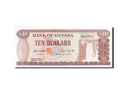 Guyane, 10 Dollars, Type 1992 - Guyana