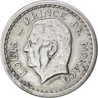 Monaco, Louis II, 2 Francs ND (1943), KM 121 - 1922-1949 Louis II
