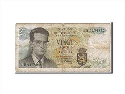 [#109571] Belgique, 20 Francs Type 1964 - [ 2] 1831-... : Royaume De Belgique