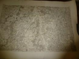 1757  ?  Carte Géographique Région Inscrite Dans Le Polygone De: Murat,Meillard,Artonne,Aigueperse,St-Cyr,Jalligny,etc - Geographical Maps