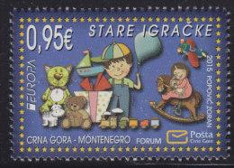 Montenegro, 2015, Europa CEPT - Old Toys, MNH (**) - Montenegro
