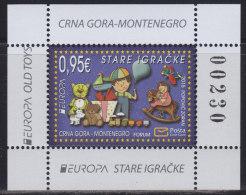 Montenegro, 2015, Europa CEPT - Old Toys, Block, MNH (**) - Montenegro