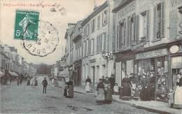27 - Pacy-sur-Eure - Rue Edouard-Isambard (librairie Papeterie A. Morand Père) (parapluie Fabre) - Pacy-sur-Eure