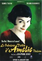 "15H : Hollywood Movie Cinema Poster Postcard ""Le Fabuleux Destine D´Amelie"" - Posters Op Kaarten"