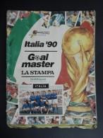 """ALBUM CALCIATORI FIGURINE EUROFLASH """"ITALIA 1990"""" - GOAL MASTER LA STAMPA - Trading Cards"""