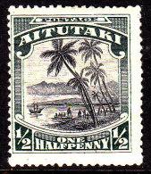 Aitutaki 1920 SG 24 Mint Hinged - Aitutaki