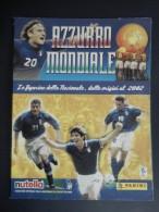 """ALBUM CALCIATORI PANINI """"AZZURRO MONDIALE"""" - Le Figurine Della Nazionale, Dalle Origini Al 2002 - Trading Cards"""