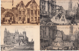 Lot 23 Cartes Anvers Antwerpen (Nels, Verhoeven, Thill, Margarine Brunita Supra,, Chocolaterie César, Flamme) - Antwerpen