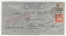 Niederl�ndisch Indien Brief 1934 nach Deutschland