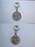 Porte-clés Keychain Métal Et émail AUGIS TEPPAZ - Porte-clefs