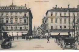 LEIPZIG - Grimmaische Str. Geschäft W. RÖPER Schön Belebt!  Pferdekutschen 1915 - Sin Clasificación