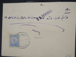 TURQUIE-Détaillons Belle Collection De Lettres (Bureaux Intérieurs Début 1900) - Rare Dans Cette Qualité LOT P4046 - 1858-1921 Empire Ottoman