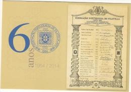 Portugal &  60 Aniversário Da Federação Portuguesa De Filatelia 1954-2014 (1) - Post