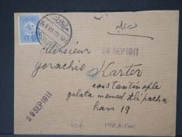TURQUIE-Détaillons Belle Collection De Lettres (Bureaux Intérieurs Début 1900) - Rare Dans Cette Qualité P4057 - 1858-1921 Empire Ottoman