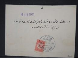TURQUIE-Détaillons Belle Collection De Lettres (Bureaux Intérieurs Début 1900) - Rare Dans Cette QualitéLOT P4068 - 1858-1921 Empire Ottoman