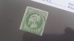 LOT 255377 TIMBRE DE FRANCE OBLITERE N°12 VALEUR 90 EUROS - 1853-1860 Napoléon III