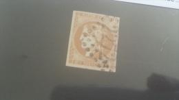 LOT 255388 TIMBRE DE FRANCE OBLITERE N�43A VALEUR 80 EUROS