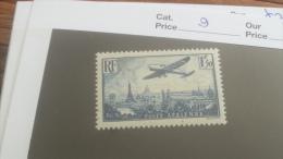 LOT 255555 TIMBRE DE FRANCE NEUF* N�9 VALEUR 13 EUROS