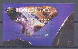 Mgm1863 MINERALEN GEMSTONES MINERALIEN UND GESTEINE MINÉRAUX EXPO INDONESIË INDONESIA 1998 PF/MNH  VANAF1EURO - Mineralen