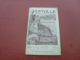 Depliant Touristique  Granville 1910 1920 - Dépliants Turistici