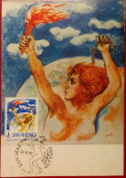 MAXIMA CARD,MAXI CARD,MAXIMUM,SAN MARINO,1979,PALAZZO DEL TURISMO - Roumanie