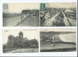 Lot 28 Cartes Anciennes De Fécamps - - 5 - 99 Postkaarten