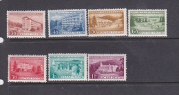 Hungary 1953 Buildings MNH - Unused Stamps