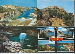 Lot 7 Cartes Modernes - Corse Ile De Beauté - Bonifacio- Calvi- San´Antonino - Ile Rousse - 5 - 99 Postkaarten